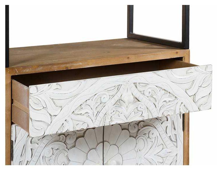 estanteria-madera-blanca-puertas-cajon
