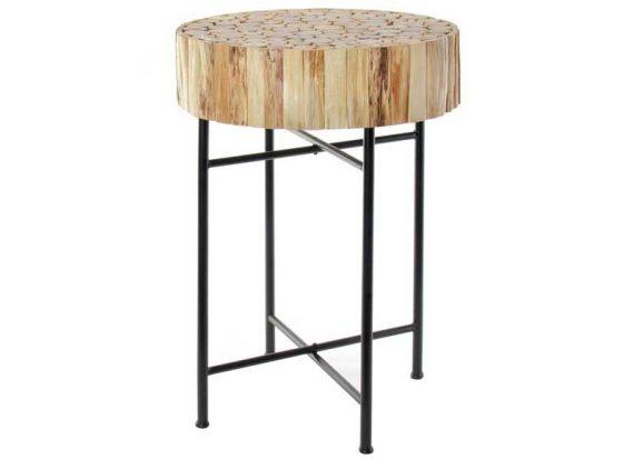 mesa-rincon-circular-troncos-madera-metal