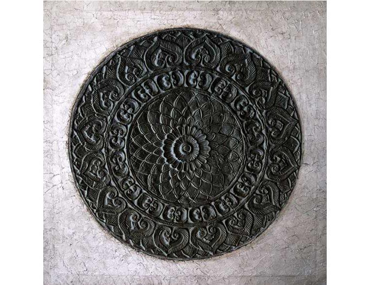 cuadro-mandala-plata-negro