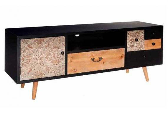 mueble-television-moderno-negro
