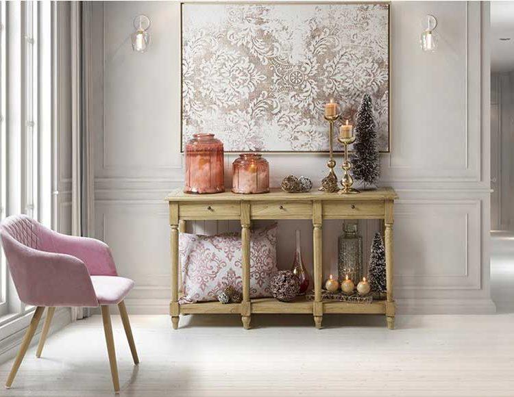 consola-clasica-madera-clara-ambiente