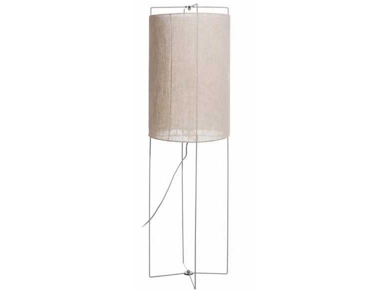 lampara-suelo-cilindrica-tela-metal