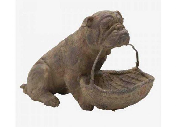 figura-perro-bulldog-cesta