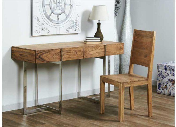 escritorio-rustico-moderno-madera-acero