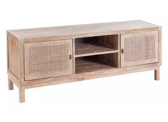 mueble-television-colonial-natural-rattan