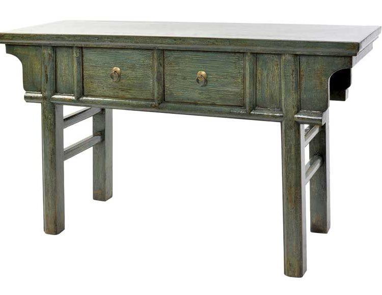 consola-oriental-madera-olmo-verde