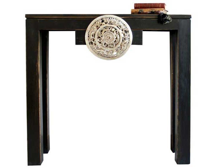 consola-recibidor-oriental-negra-medallon-mandala-dragones