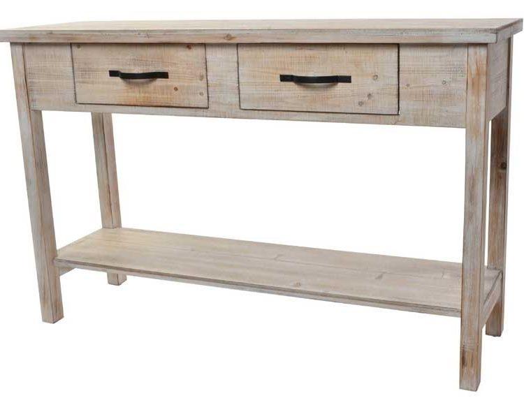 consola-rustica-madera-clara-balda