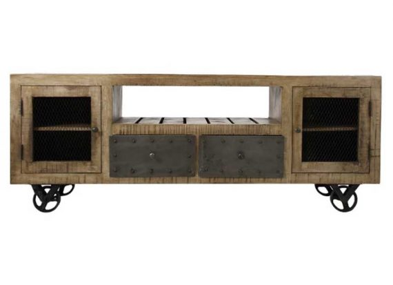 mueble-television-industrial-madera-natural-metal