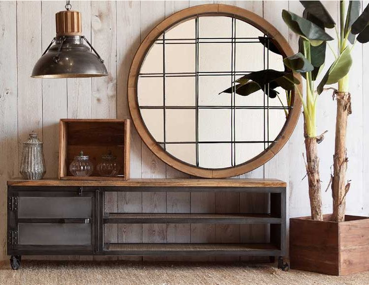 mueble-television-industrial-ruedas-salon