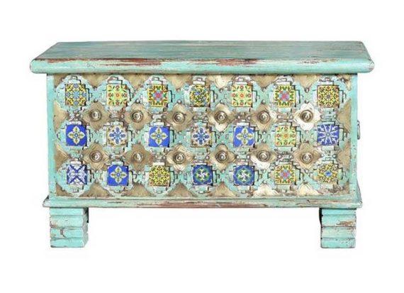 baul-etnico-hindu-azul-decoracion-metal