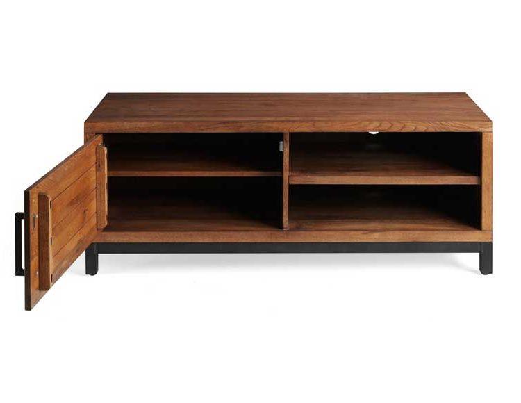 mueble-television-rustico-industrial-patas-metal-roble-abierto