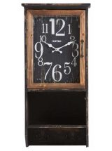 reloj-pared-rectangular-negro-perchero