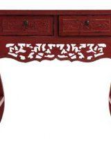 consola-china-tradicional-roja-envejecida-tallada