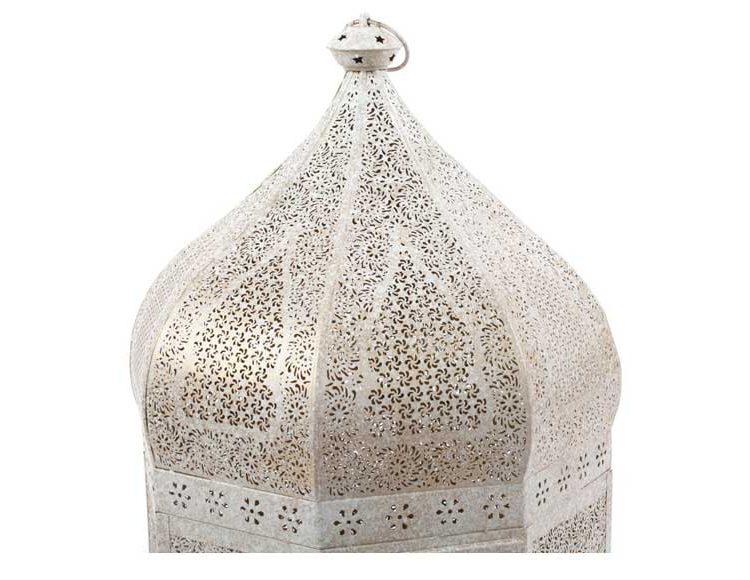 lampara-alta-arabe-metal-blanco-dorado-detalle