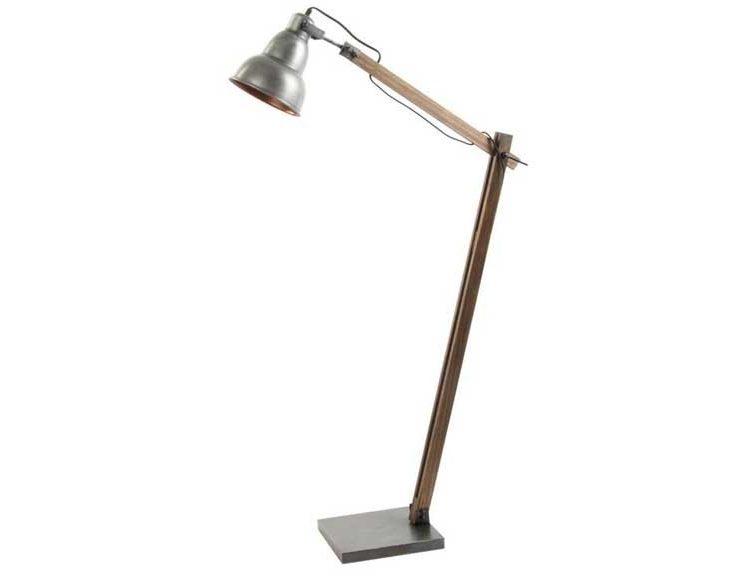 lampara-suelo-industrial-pie-madera-metal