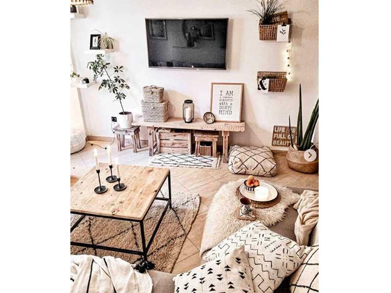 banco-mueble-television-rustico