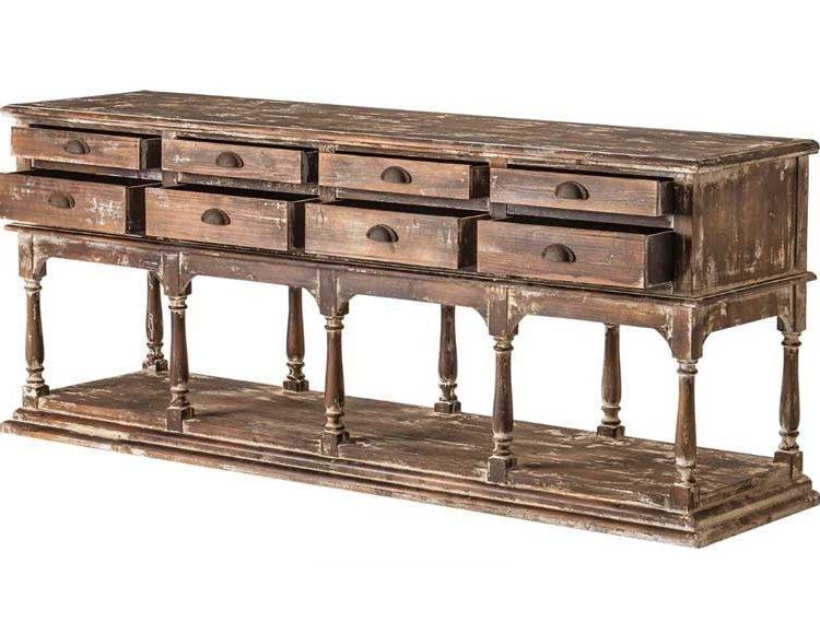 consola-grande-rustica-madera-envejecida-cajones