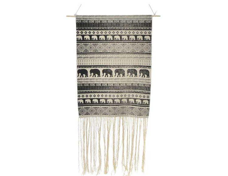 tapiz-boho-elefantes-blanco-negro