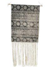 tapiz-pared-boho-blanco-negro