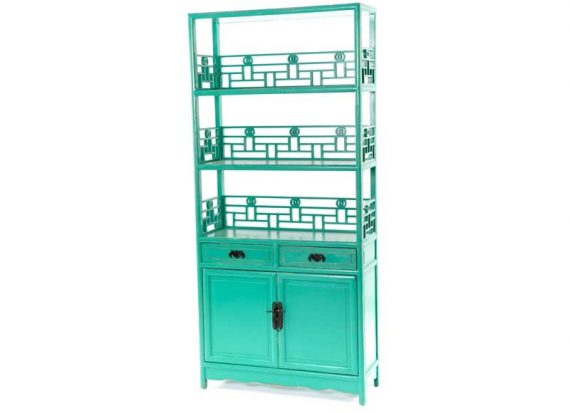 estanteria-oriental-verde-puertas