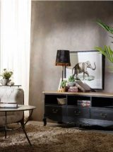 mueble-television-clasico-negro-natural-salon