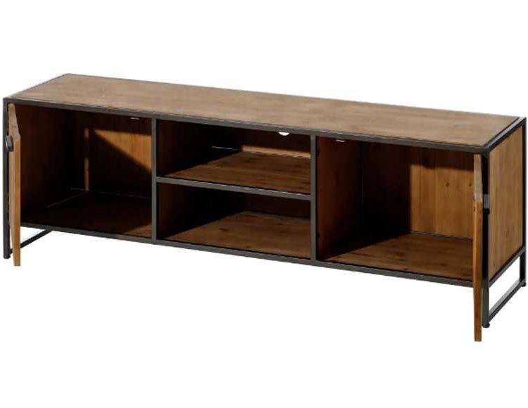 mueble-television-madera-metal-industrial-abierto