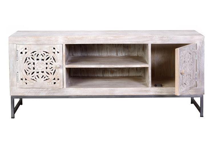 mueble-television-oriental-blanco-mandala-abierto