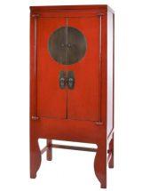 armario-oriental-rojo-medallon-metal