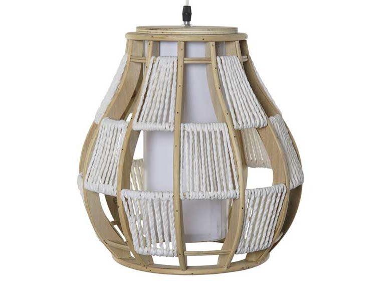 lampara-techo-madera-cordon