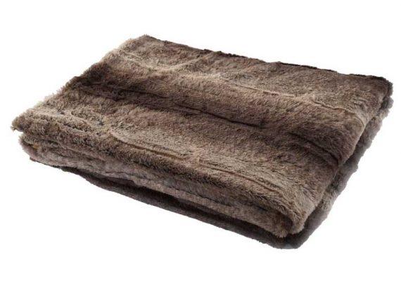 manta-sofa-pelo-marron