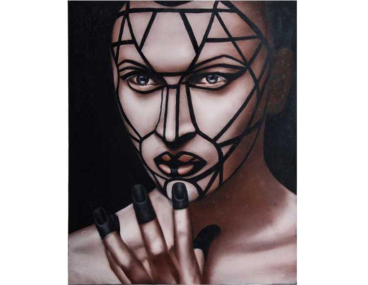 cuadro-lienzo-rostro-mujer-moderno
