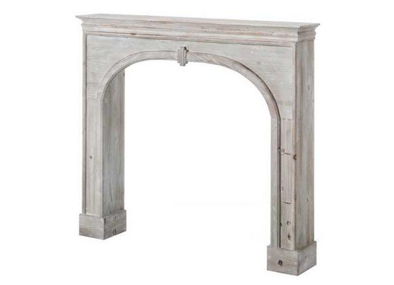 frente-chimenea-madera-blanca-sencilla