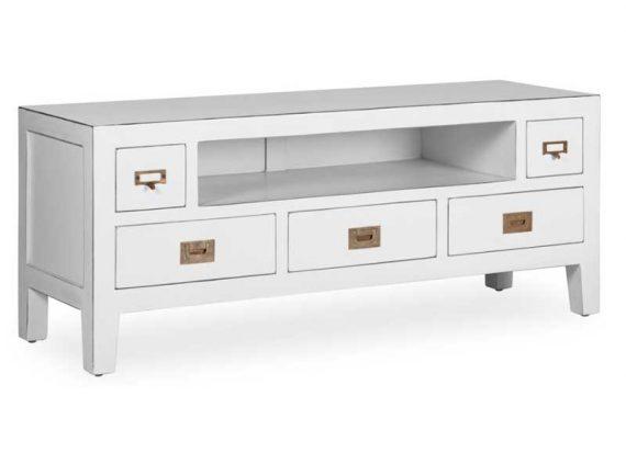 mueble-television-blanco-rozado
