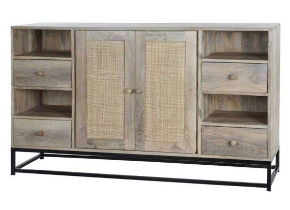 aparador-rustico-madera-natural-rejilla