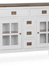 consola-aparador-blanca-tapa-madera-everest