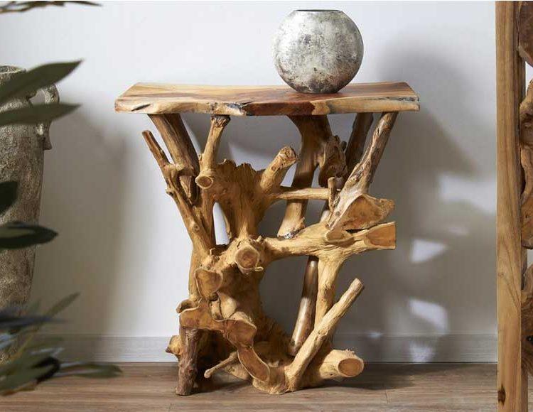 consola-rustica-madera-raiz