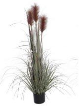 planta-artificial-verde-plumas-marrones