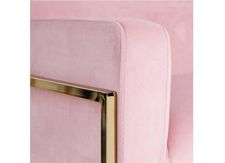 butaca-moderna-diseño-terciopelo-rosa-detalle