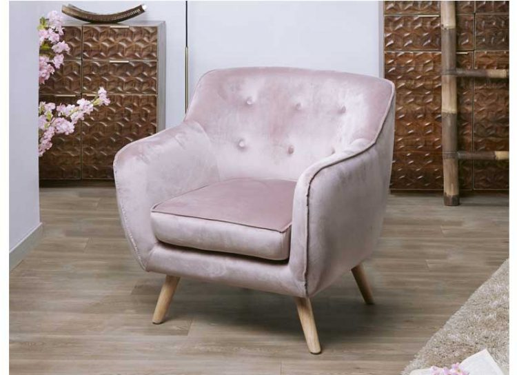 butaca-moderna-terciopelo-rosa