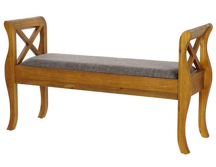 descalzadora-colonial-brazos-madera-tela-gris