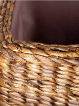 descalzadora-rustica-rattan-natural-tela-marron-juego-abierta