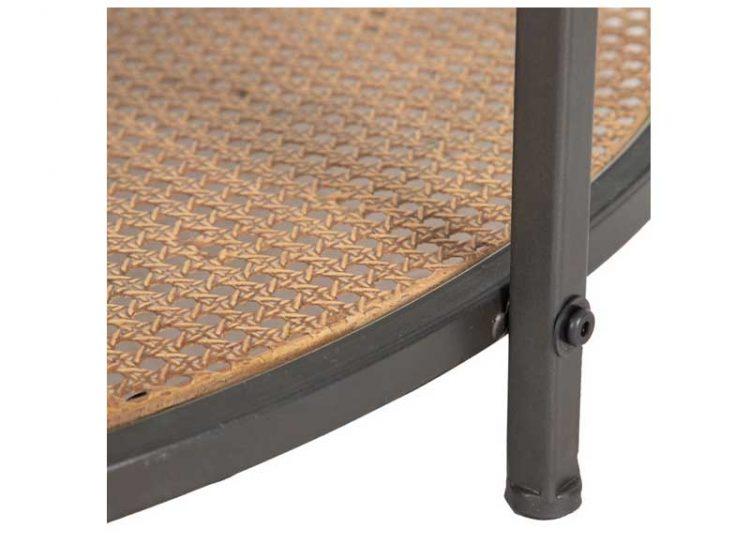 mesa-centro-redonda-rattan-cristal-detalle