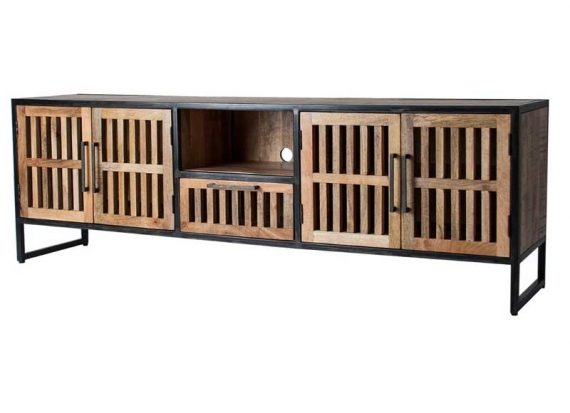 mueble-television-rustico-industrial-madera-natural-metal
