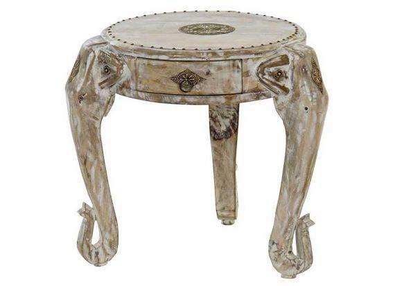 mesa-auxiliar-elefante-adornos-laton