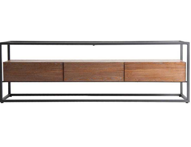 mueble-television-moderno-madera-metal-cristal