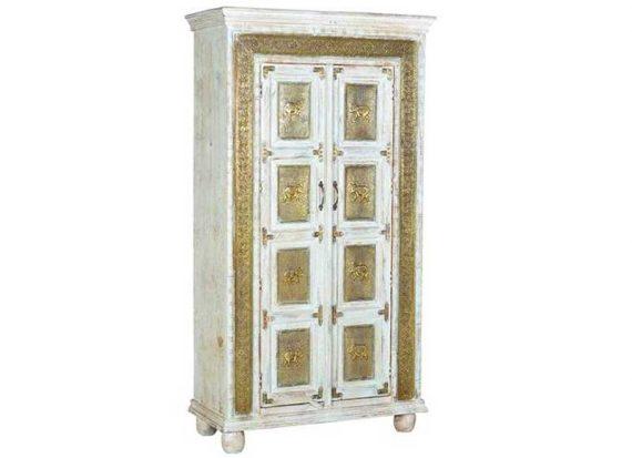 armario-etnico-baldas-madera-maciza-decoracion-bronce