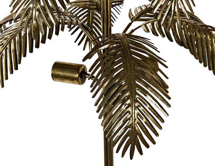 lampara-suelo-palmera-metal-dorada-detalle