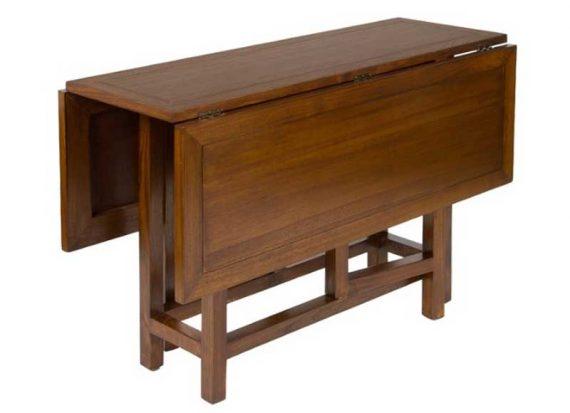 mesa-comedor-alas-abatibles-cuadrada-colonial