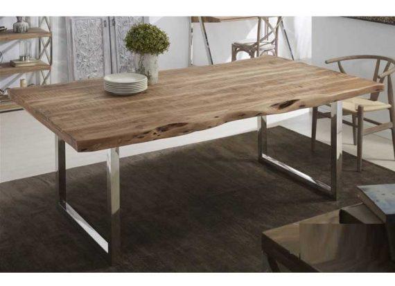 mesa-comedor-rustica-actual-natural-acero